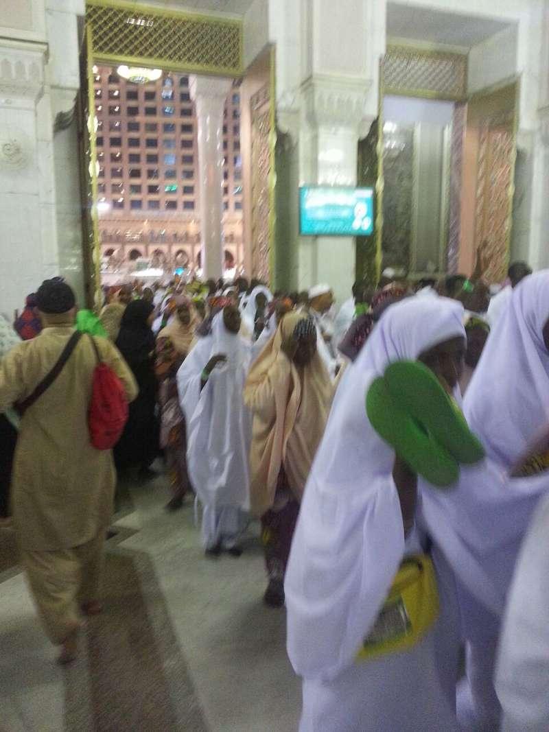 العربية في تفويج 11458 من حجاجها إلى الحرم المكي منذ