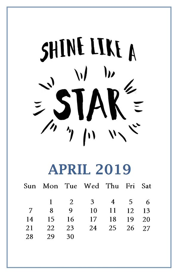 Motivational-April-2019-Calendar-Template.